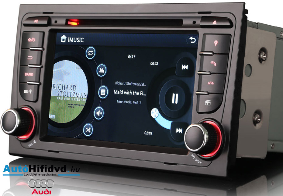új, garanciális audi márka specifikus autóhifibolt (android) akciÓ waze*