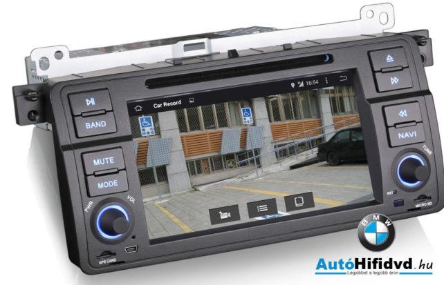www.autohifidvd.hu tolatókamera képe az autóhifi kijelzőjén