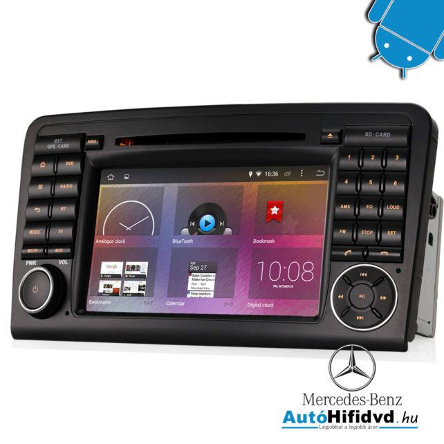 új, Mercedes ML-Class W164, GL-Class X164 (2005-2012) Gyári Kinézetű AutóHifi