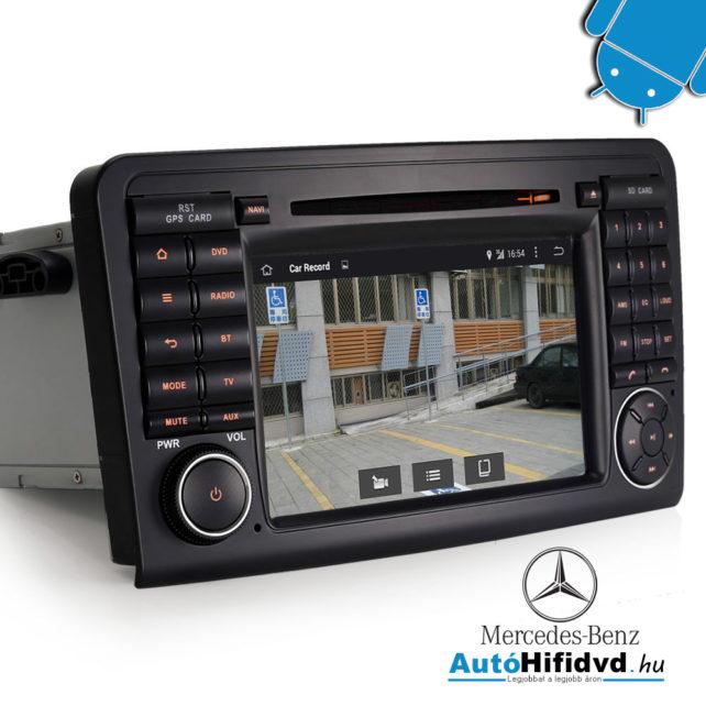 új, Mercedes ML-Class W164, GL-Class X164 (2005-2012) Gyári Kinézetű AutóHifi Multimédia