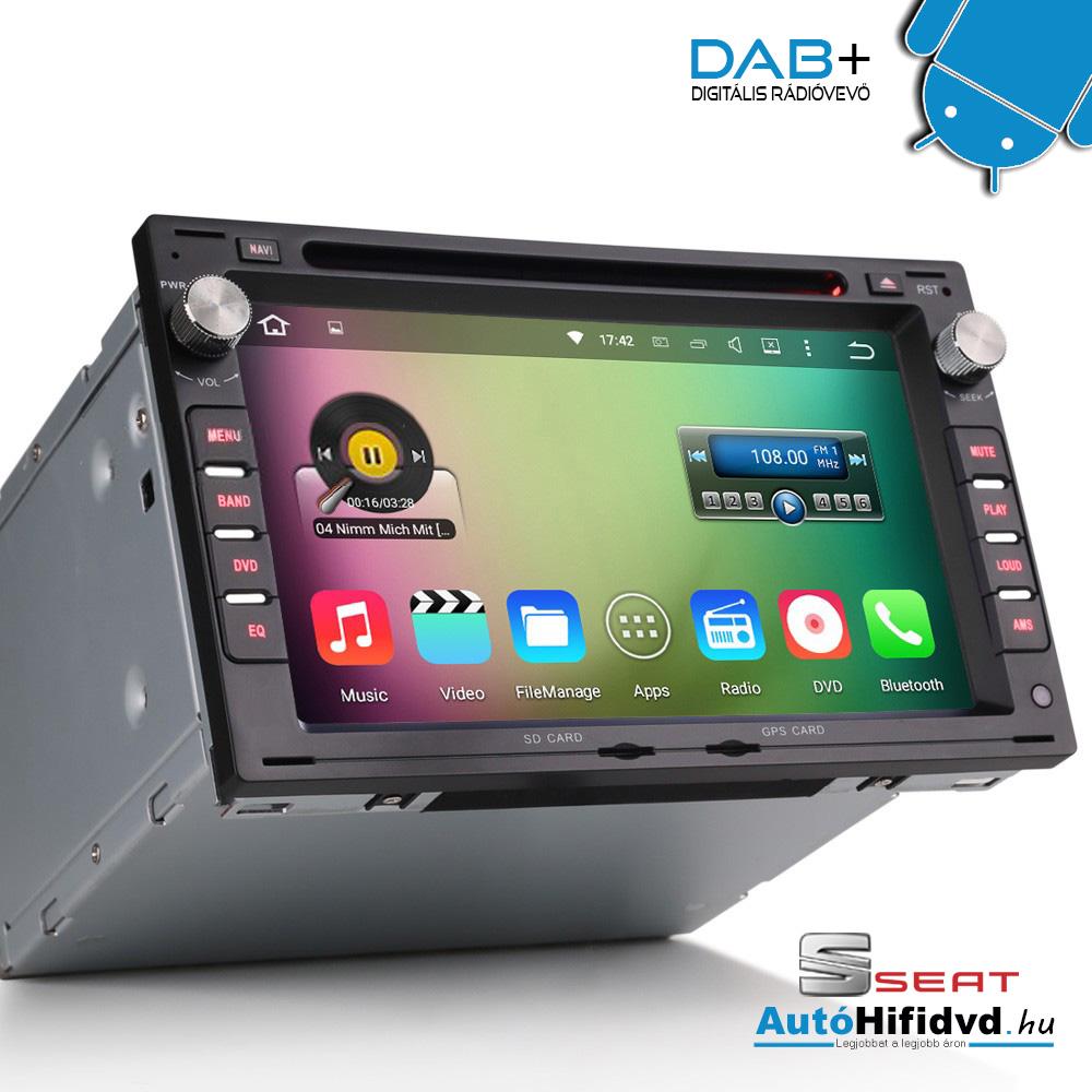 Android és Windows CE Rendszerű Autóhifi